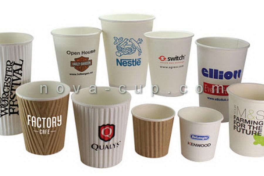 چاپ لیوان کاغذ تبلیغاتی