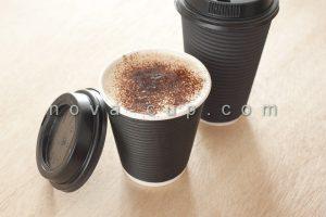 لیوان درب دار قهوه